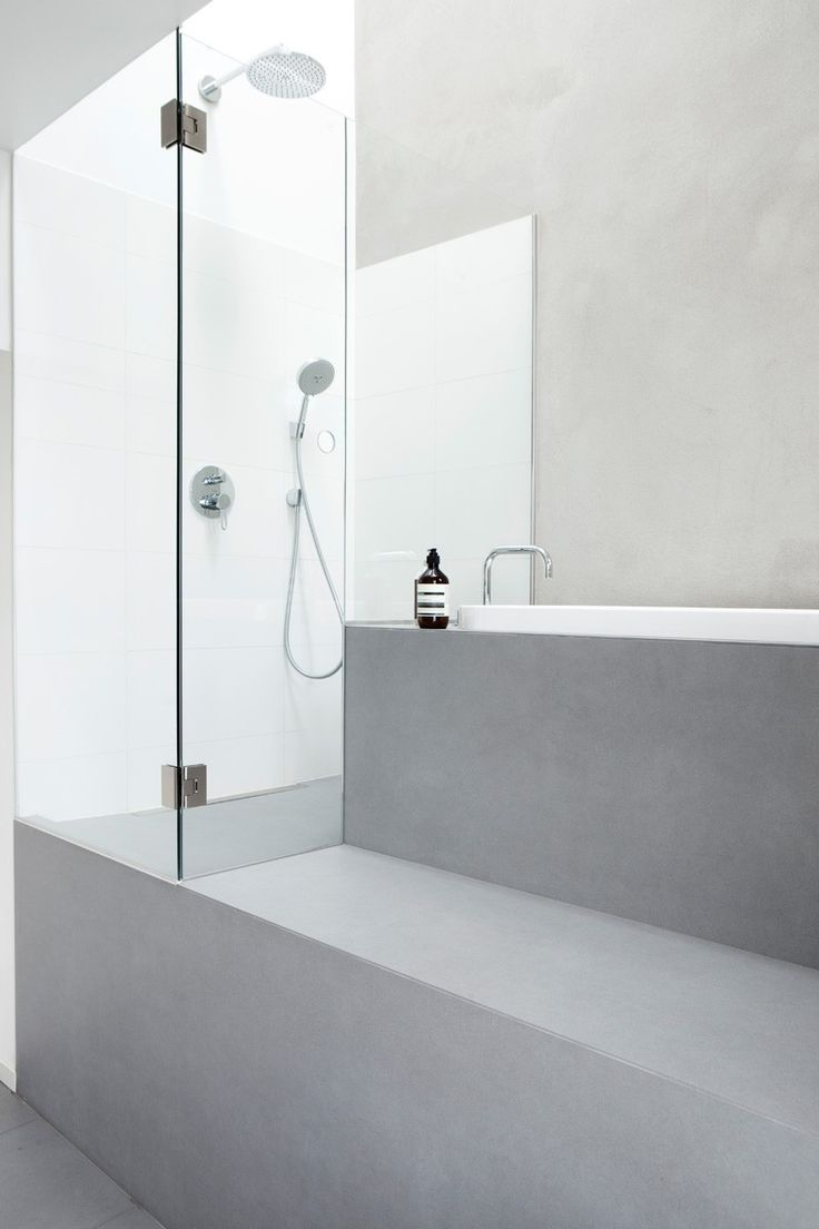 Minimalist Bathroom Modern Glass Shower Haptic Architects