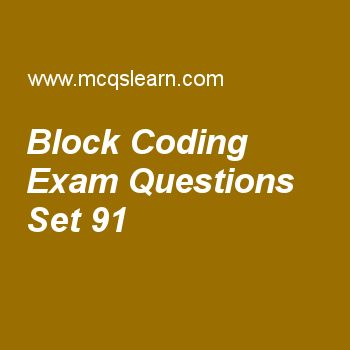 Practice test on block coding, computer networks quiz 91 online. Practice networking exam's questions and answers to learn block coding test with answers. Practice online quiz to test knowledge on block coding, point to point protocol, ieee 802.11 standards, sonet frames, ipv4 connectivity worksheets. Free block coding test has multiple choice questions as what is number of bits per baud for psk with four different phases, answers key with choices as 3, 4, 2 and 5 to test study skills...