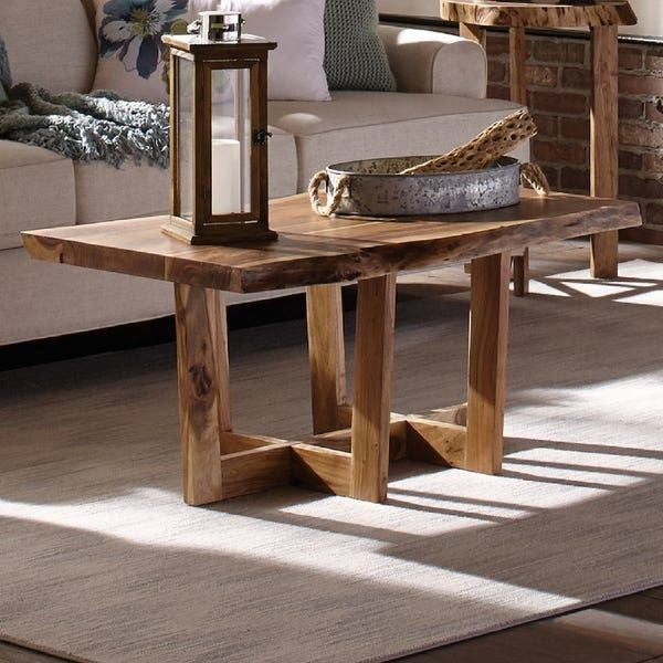 Overstock Com Online Shopping Bedding Furniture Electronics Jewelry Clothing More Coffee Table Wood Solid Wood Coffee Table Live Edge Coffee Table