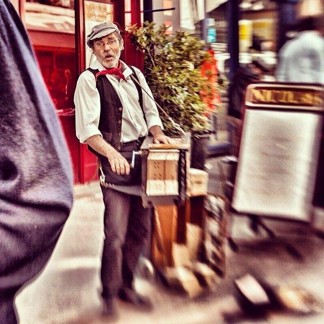 street organ in Paris