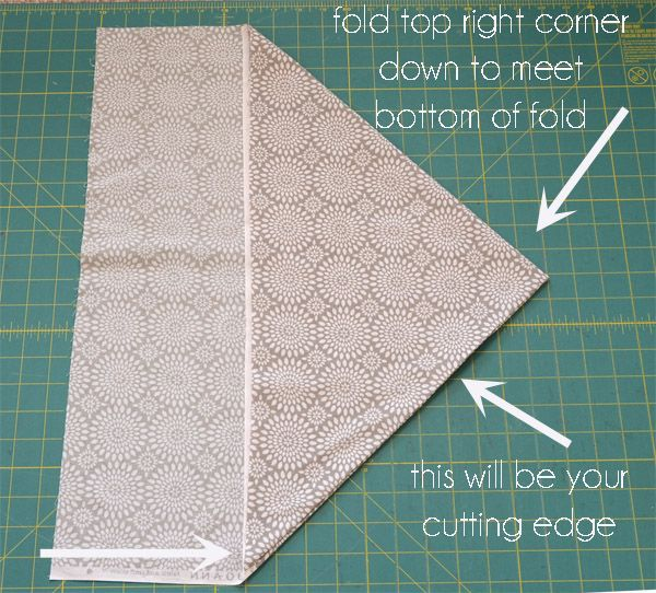 how to cut strips for quilting