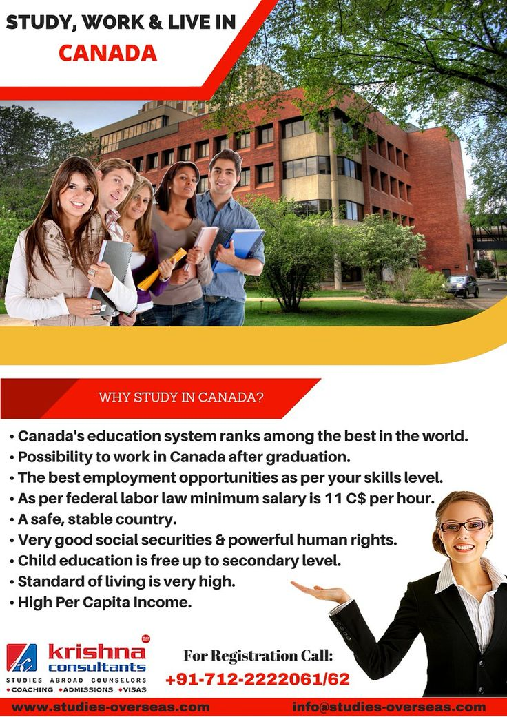 Interested to study in #Canada? Find out more about the Study Areas in Canada. http://goo.gl/V8YEh1   #studyabroad