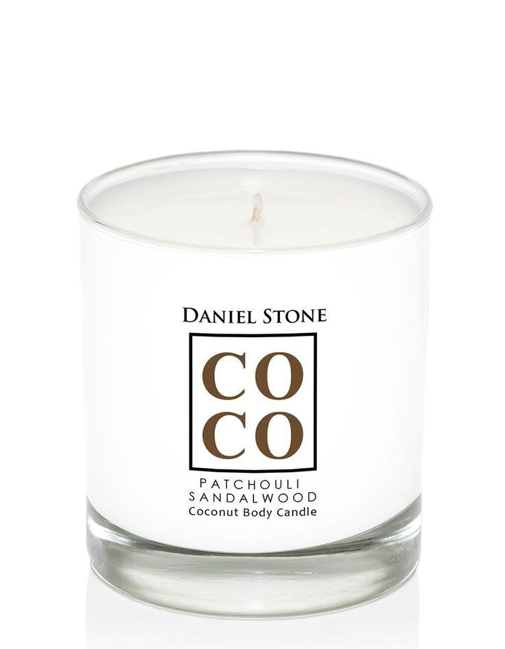 COCO Spa - Patchouli Sandalwood Candle