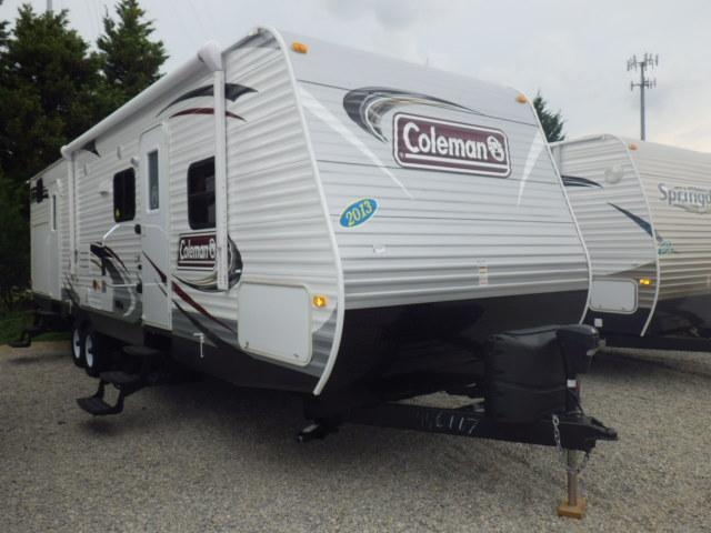 #1 - New 2013 Coleman Coleman Travel Trailers For Sale In Garner, NC - RAL58662 - Camping World