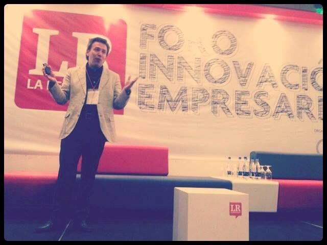 Juan Carlos Bedoya, Gerente General MUMA en el Foro de Innovación Empresarial, en Bogotá