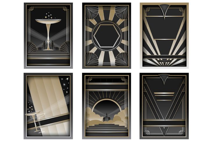 Epic Art Deco Bundle - Vector Illustrations and Patterns