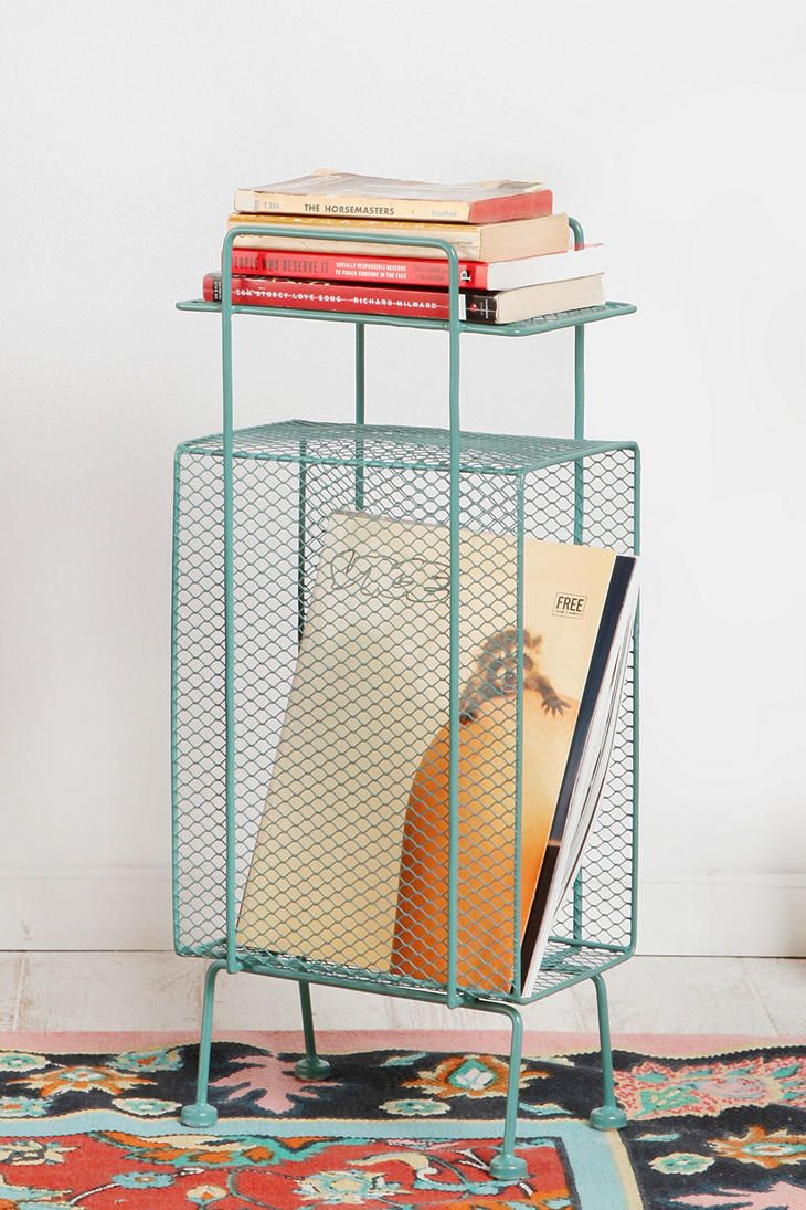 Thinking this might just be perfect instead of a bedside table.  Just the right size to park next to the rocker and stash rotating favorite books in.