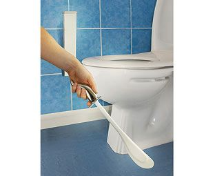 Expert Verdict Toilet Maid® Loo Cleaner, Chrome Toilet Maid® bans those dirty, germ-ridden toilet brushes forever! A British housewife hated loo brushes so much that she was determined to design an alternative – and came up with this revolutionary  http://www.MightGet.com/january-2017-11/expert-verdict-toilet-maid®-loo-cleaner-chrome.asp