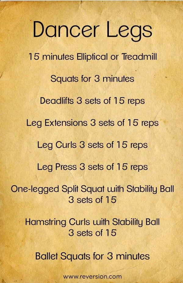 Excersices For Legs At Home and At The Gym - Workout plan to get long, lean legs... #dancer #legs #workout - Strengthening our legs is an exercise that we are going to make profitable from the beginning and, therefore, we must include it in our weekly training routine