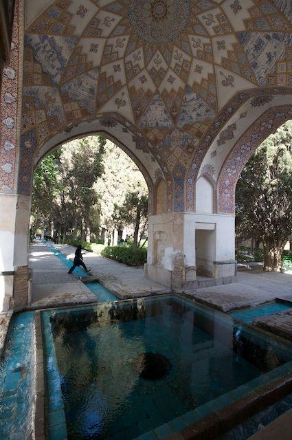 Fin Garden located in Kashan, Iran, is a historical Persian garden.