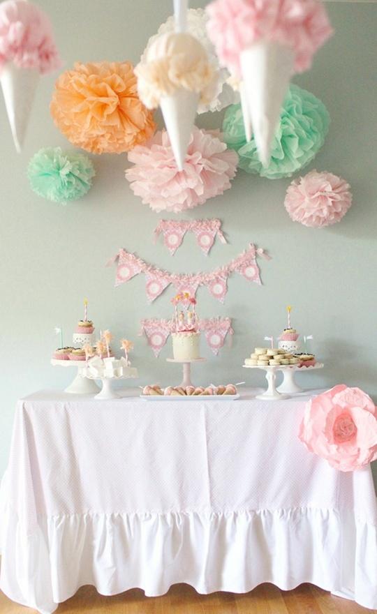 Ice Cream Themed Birthday Party