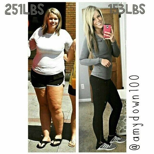 @amydown100 shares her Incredible Transformation story!........