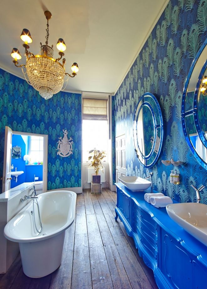 25 best ideas about peacock wallpaper on pinterest for Bathroom wallpaper patterns