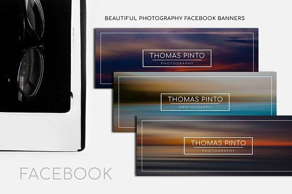Beautiful Photography FB Banner by sandymanme on @creativemarket