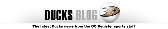 VIDEO: 'Reporter' Teemu Selanne takes on Anaheim Ducks captain Ryan Getzlaf