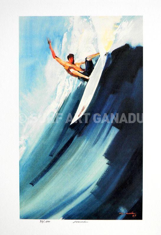 LIMITED EDITION PRINTS - SurfArt Ganadu