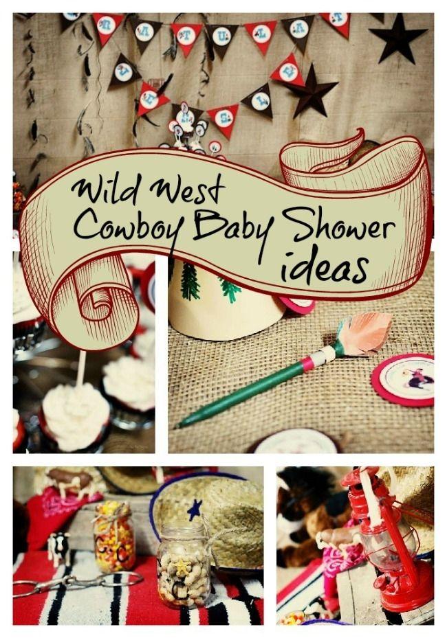 Wild, Wild West Baby Shower... for Twin Boys! - www.spaceshipsandlaserbeams.com