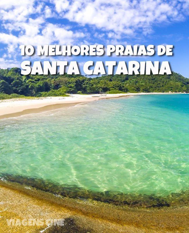 10 melhores praias de Santa Catarina: um dos melhores litorais do Brasil, Santa Catarina reserva praias intocadas. Confira paraísos em Florianópolis, Praia do Rosa, Bombinhas e Costa Verde #Viagem #Praia