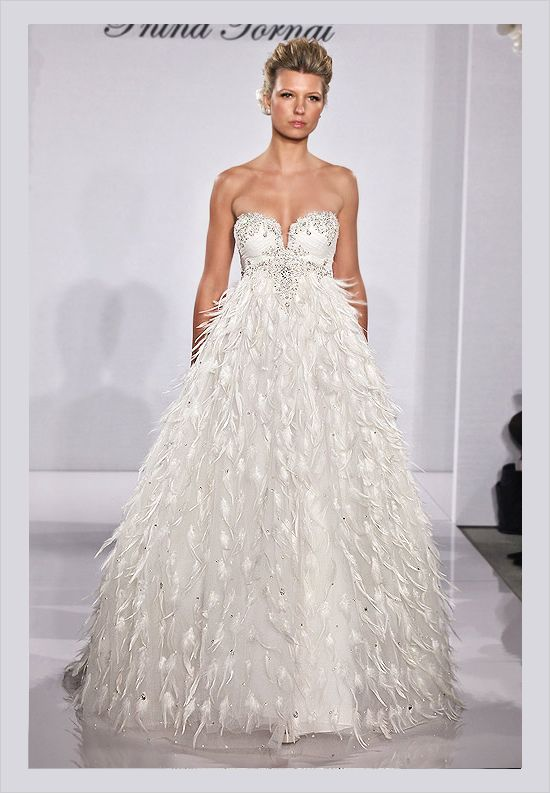 Pnina Tornai Wedding Gowns  http://www.weddingchicks.com/2011/12/27/pnina-tornai-2012-bridal-collection/#