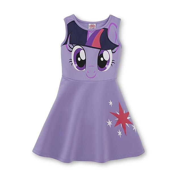 My Little Pony Fit & Flare Dress - Twilight Sparkle ~ so cute! I want it!