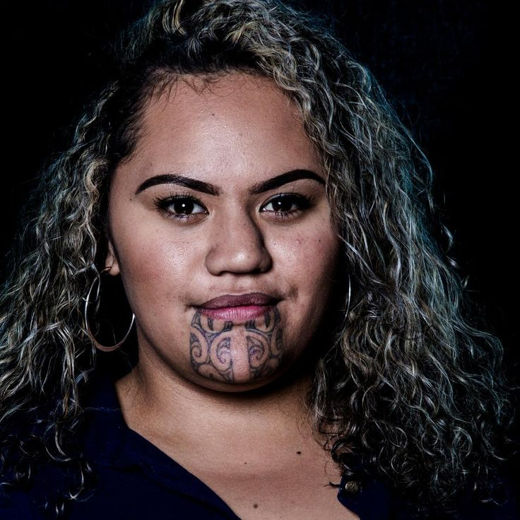 Maori practice of moko kauae what it means to stamp your identity on your face. - photo by Stephen Langdon