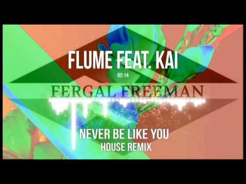 Flume feat. Kai - Never Be Like You (Fergal Freeman House Remix)