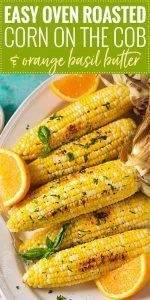 The easiest method for cooking corn on the cob… roasting it in the oven! This method yields perfectly cooked and naturally sweet ears of corn! Everyone knows about grilling or boiling corn on the cob,