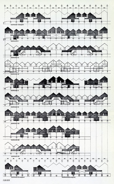 Piet Blom. GA Houses. 33 1977: 49 | RNDRD