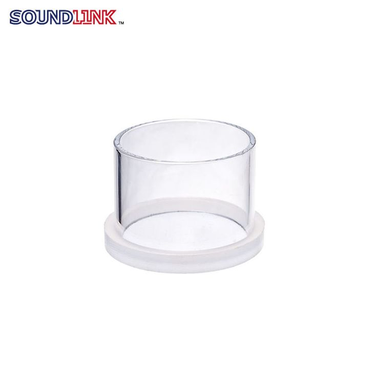 Free Shiping 50*37mm Earmold Lad Tools Clear Plastic Casting Ring With Removable Bottom Part From China