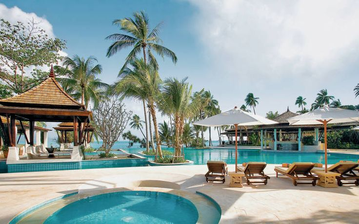 10-NIGHT LUXURY IN BANGKOK & KOH SAMUI >> from £999 pp (save up to £482 pp) 3 nights at Royal Orchid Sheraton Hotel & Towers in Bangkok***** 7 nights at Melati Beach Resort & Spa, Koh Samui**** Deluxe Riverview Room in Bangkok & Grand Deluxe Room in Koh Samui with breakfast, from Heathrow* with EVA Air, departures: 28 Apr - 20 June 2016, private car transfer, internal flights BOOK BY 26 JAN: info@seasideandmore.com / 0203 675 0520
