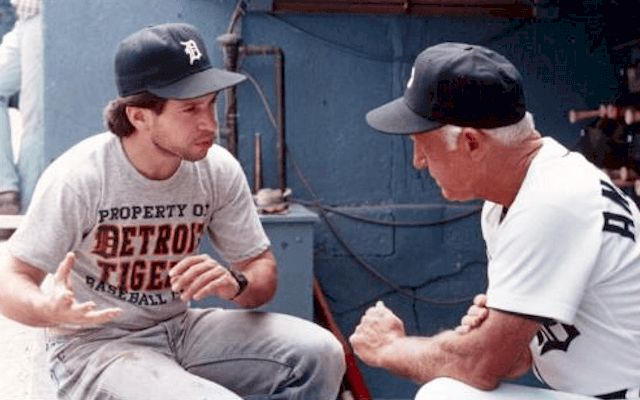 """""""Tiger Town"""" film was shot on location at Tiger Stadium in 1983"""