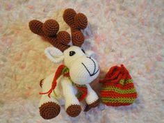 Вязание крючком: Рождественский ОЛЕНЬ Christmas deer Crochet  Ча...