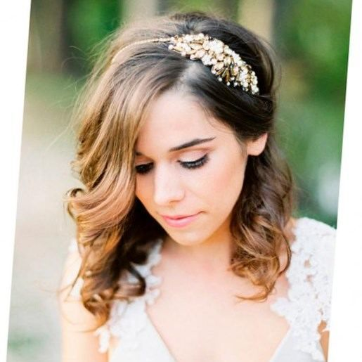 Coiffure Mariage Cheveux Longs Laches Boucles Coiffure Mariage