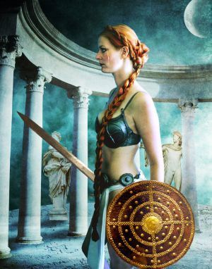 Phoebe was one of the Titans, daughter of Uranus and Gaea. She was married to her brother Coeus, with whom she had Asteria (the starry one) and Leto. The Olympians Apollo and Artemis, twin siblings, were the children of Leto; thus, they were often referred to as Phoebus and Phoebe respectively, taking their alternative names from their grandmother. Phoebe was associated with the moon and the Oracle of Delphi, and was considered to be the goddess of prophecy.....
