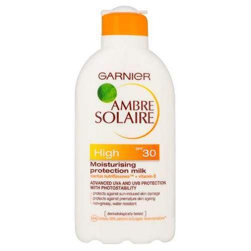 Garnier Ambre Solaire Suntan Moisturising Milk High SPF30 200ml with Cactus nutriflavones(TM) and Vitamin E - http://best-anti-aging-products.co.uk/product/garnier-ambre-solaire-suntan-moisturising-milk-high-spf30-200ml-with-cactus-nutriflavonestm-and-vitamin-e/