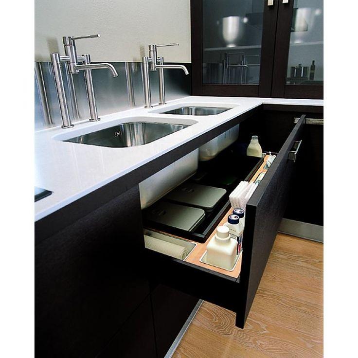 U-alakú konyha - fiókmegoldás  Konyha - Enteriör  Pinterest