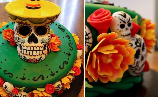 By Jessica Louise @ Cupcake Punk: Birthday Candy, Cupcakes Punk, Fun Cakes, Muertos Cakes, Amazing Cakes, Sugar Skull, Skull Cakes, Candy Skull, Birthday Cakes