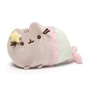 Plushies / Medium Plushies / Pusheen Mermaid Plush