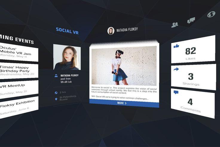 Mobile VR Jam 2015 - SOCIAL VR (full version)