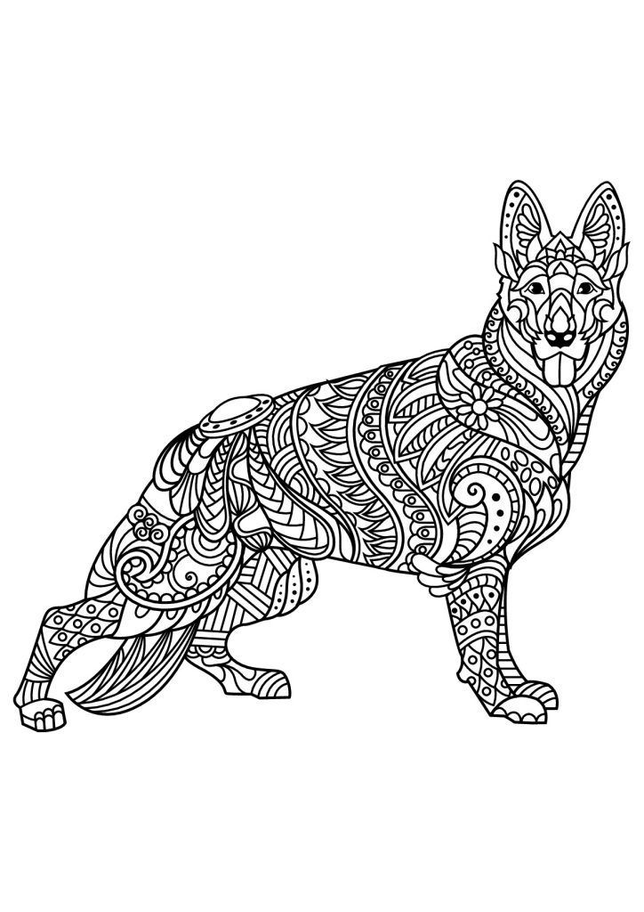 For Sunday School German Shepherd Coloring Pages Best Coloring Pages For Kid For Kindergarten Horse Coloring Pages Dog Coloring Book Dog Coloring Page