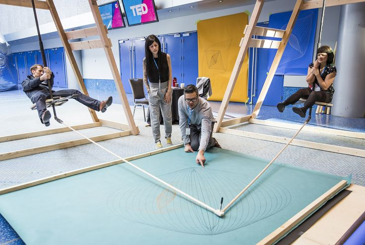 Social spaces at TED2015 - Truth and Dare, March 16-20, 2015, Vancouver…