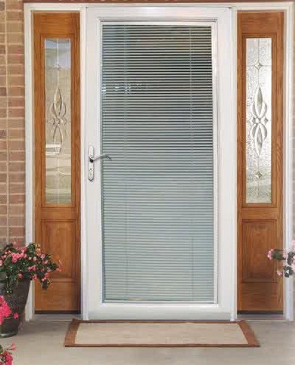 between door doors sliding patio inside with reliabilt glass vinyl screen larger ca included blinds view the