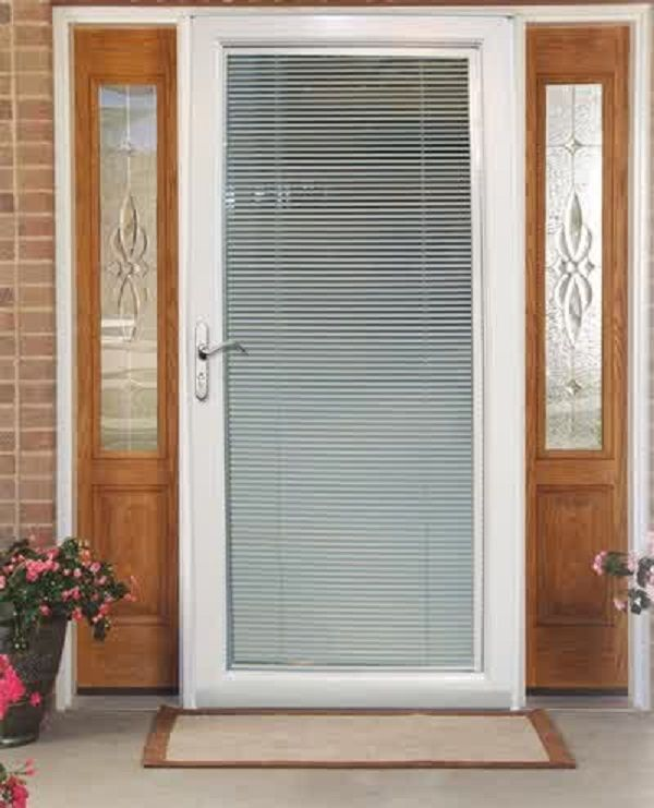 17 best images about pella storm doors on pinterest for Blinds for front window