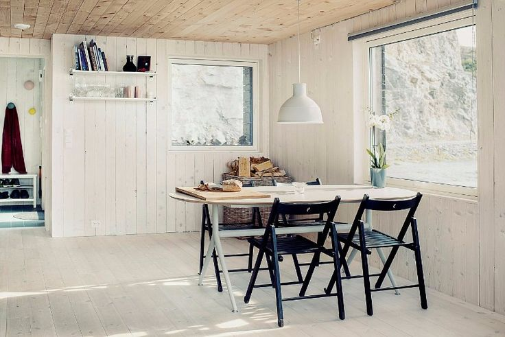 A small Norwegian house with a sea view - Living in a shoebox