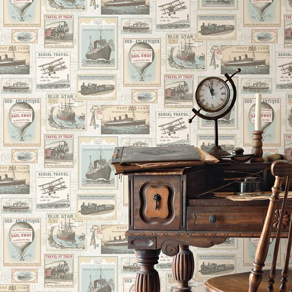 Memories 2 Collection by Galerie - G56144R #galerie #homedecor #wallpaper #wallcovering #interior