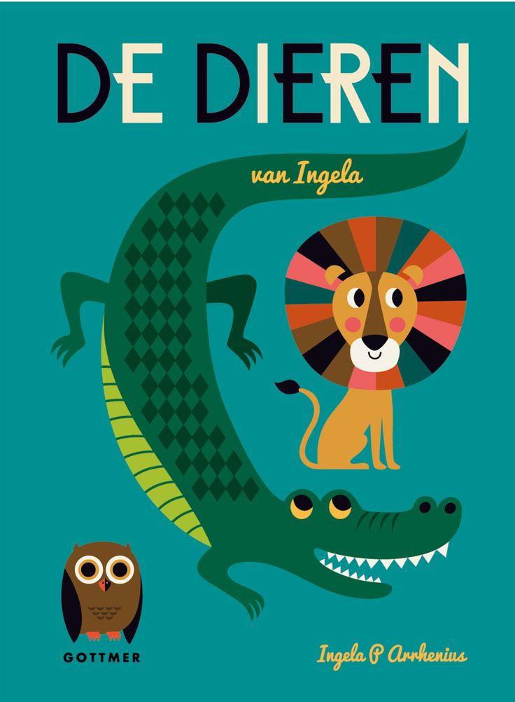 Tip: Prachtig peuter #prentenboek 'De dieren van Ingela'.
