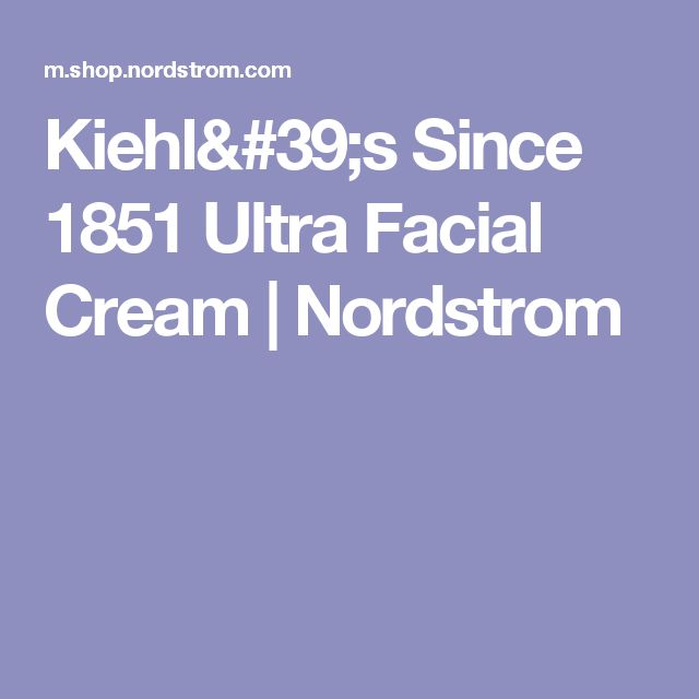 Kiehl's Since 1851 Ultra Facial Cream | Nordstrom