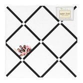 Found it at Wayfair - Hotel White and Black Collection Memo Board
