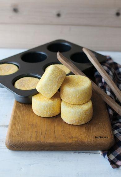 「粉量100gで作るミニイングリシュマフィン」vivian | お菓子・パンのレシピや作り方【corecle*コレクル】