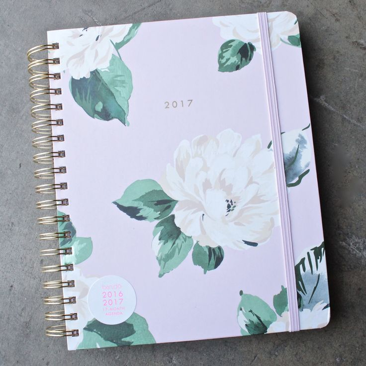 ban.do 17  months large agenda - lady of leisure floral planner - shophearts - 1